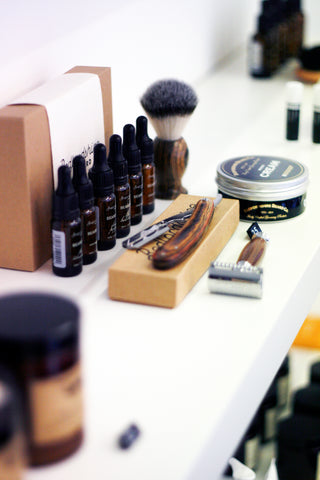 shaving brand at ryan james studio