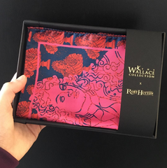 rory hutton's silk scarf collaboration with the wallace collection