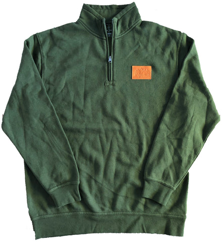 Forest 1/4 Zip Sweatshirt