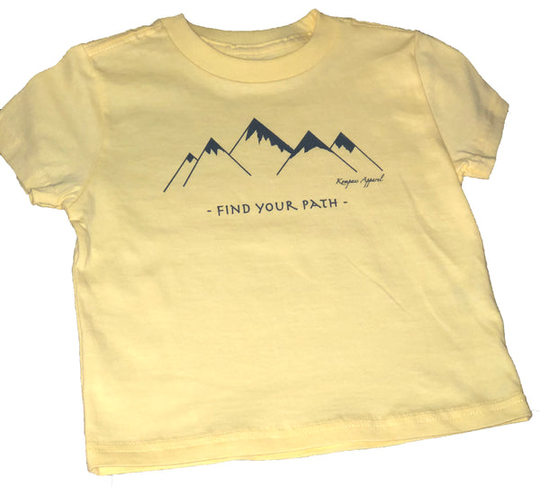 Find Your Path Toddler Tee