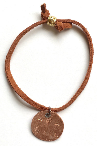 Arrow Copper Bracelet