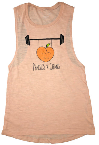 Peaches N' Cleans Muscle Tank