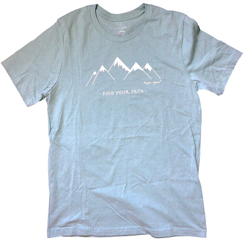 Find Your Path - Mint Tee