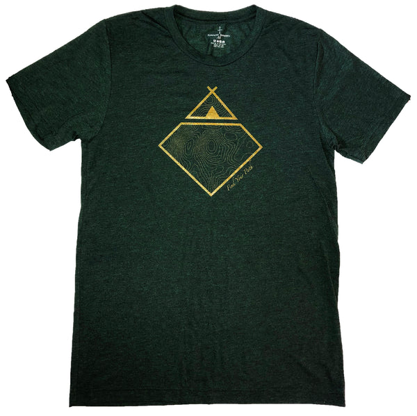 Topo Tee - Forest