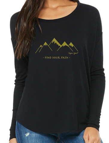 Find Your Path Long Sleeve - Womens
