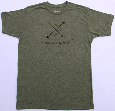 KMPS Short Sleeve Olive T-shirt