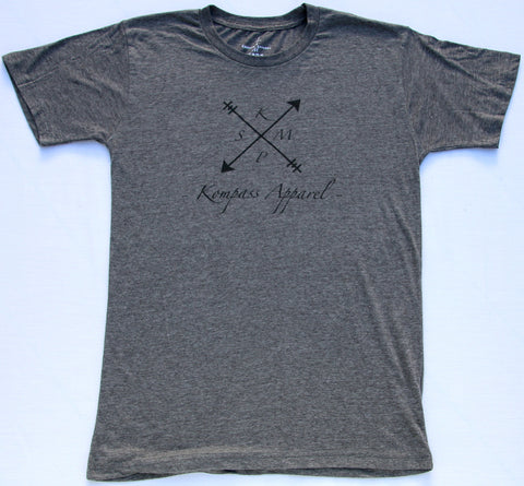 KMPS Short Sleeve Charcoal T-shirt