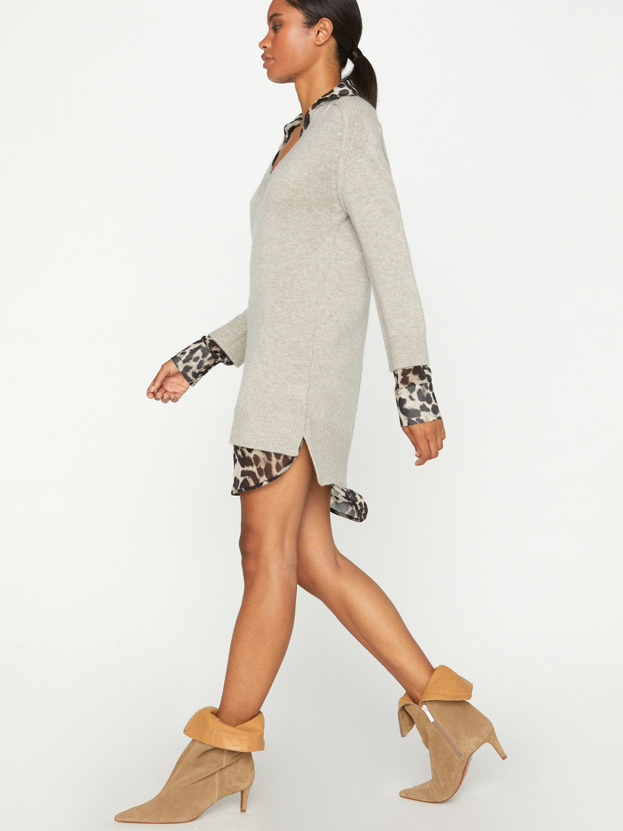 The Printed Layered Looker Dress