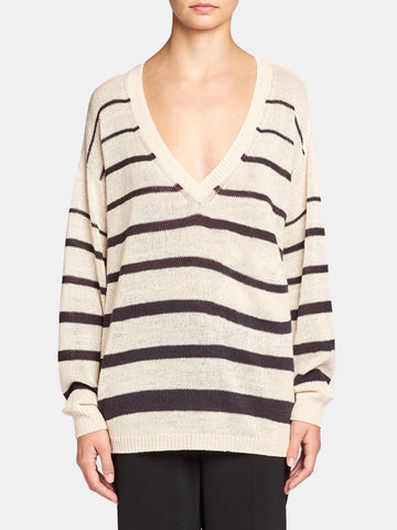 The Arama Striped Vee