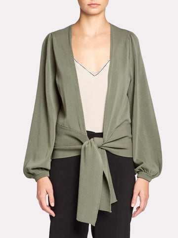 The Ayla Tie Cardigan