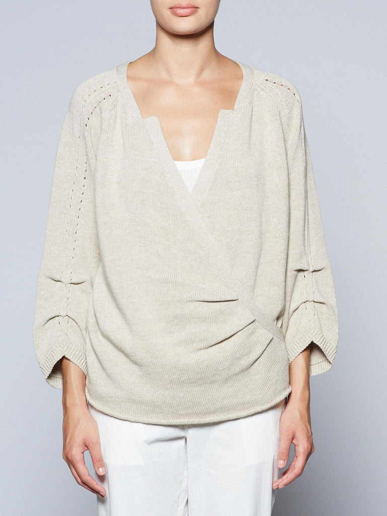 The Brun Wrap Pullover