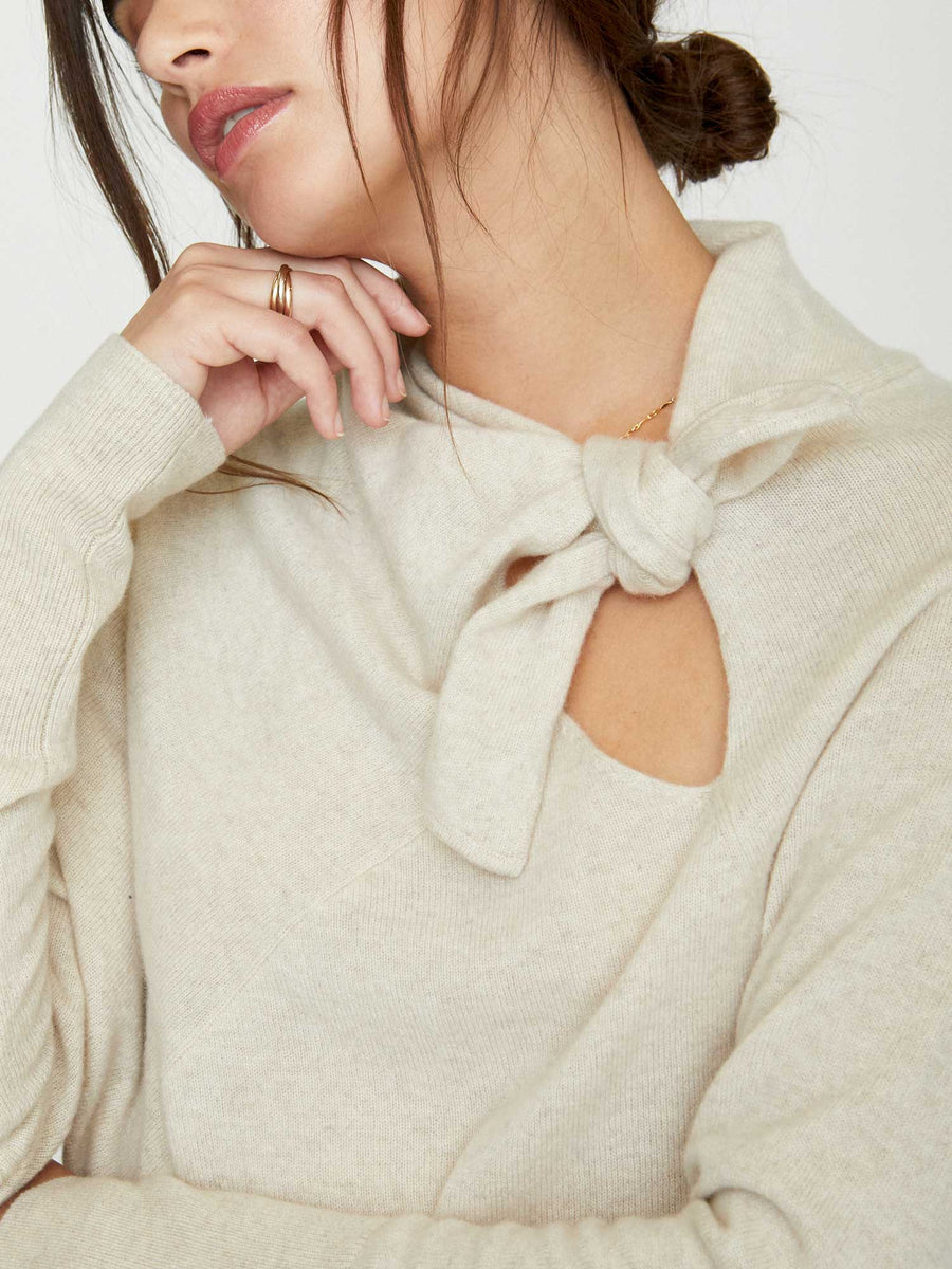 The Cleo Tie Pullover