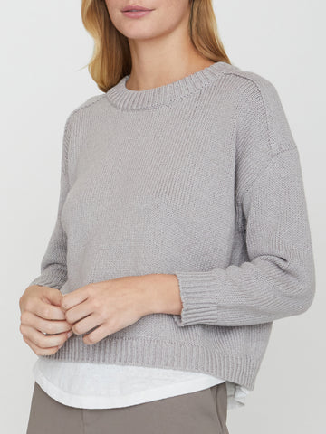 The Corbin Looker Layered Crewneck