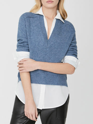 The Alum V-Neck Layered Looker