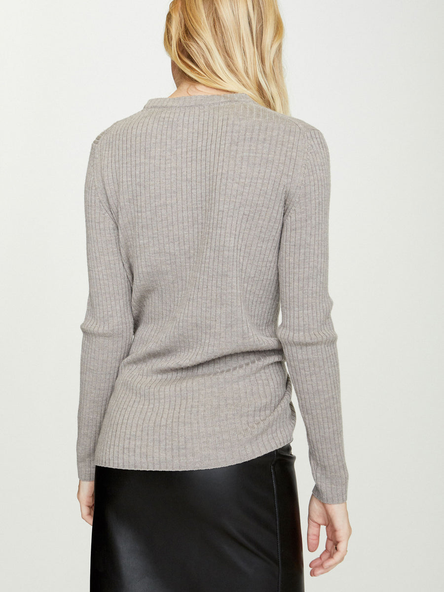 The Dean Wrap Pullover