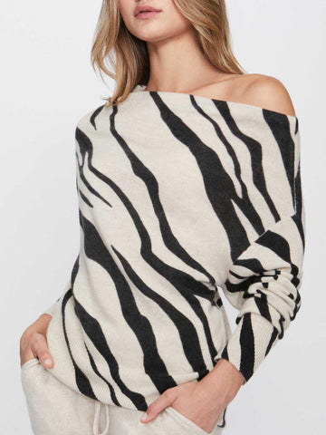 The Lori Printed Off Shoulder