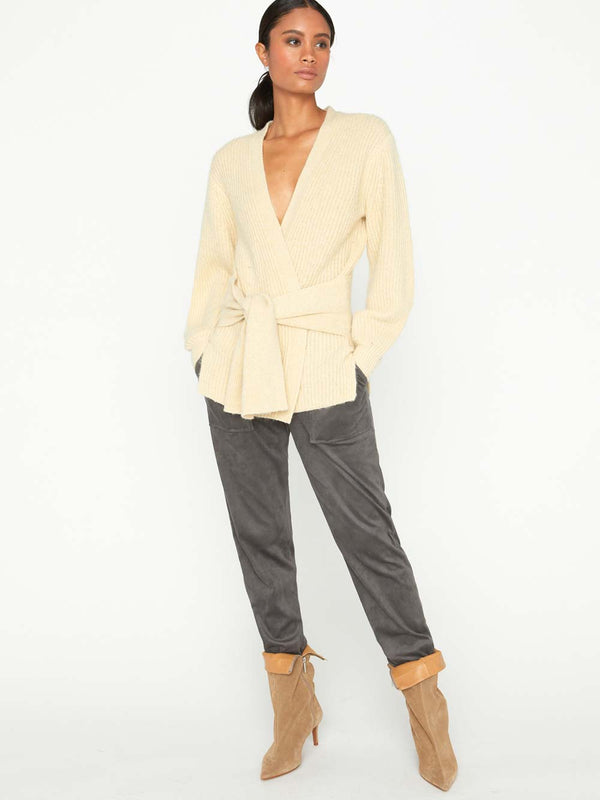 The Hansen Belted Cardigan