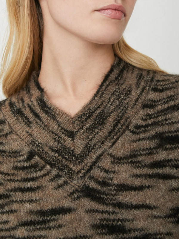 The Dutton Vee Sweater