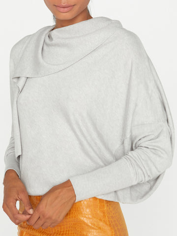 The Rhys Drape Sweater