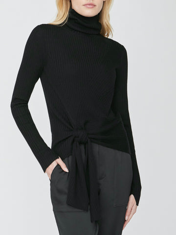 The Dean Wrap Turtleneck