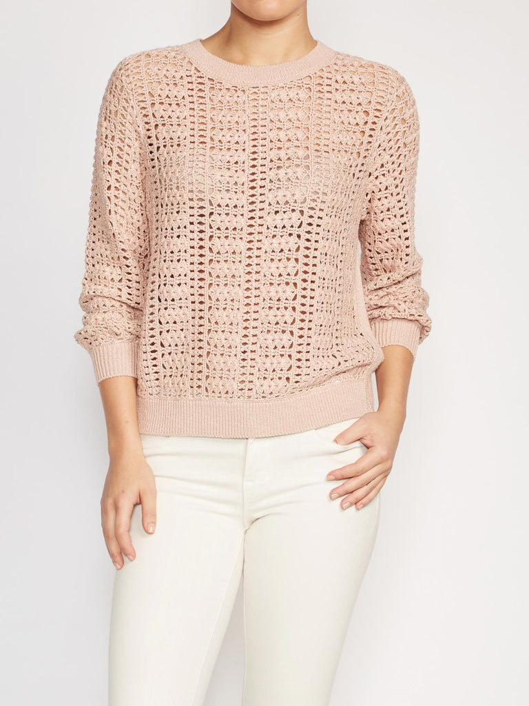 The Dilay Crochet Pullover