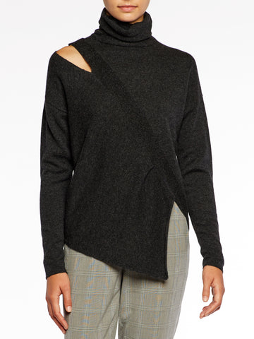 The Fae Cut Shoulder Pullover