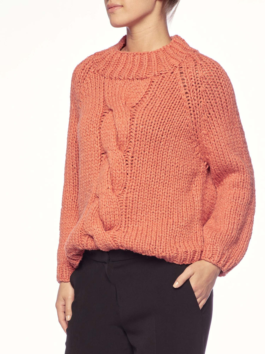 The Gia Hand Knit Pullover