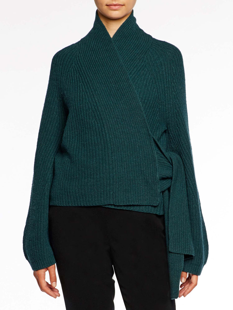 The Hedi Wrap Cardigan
