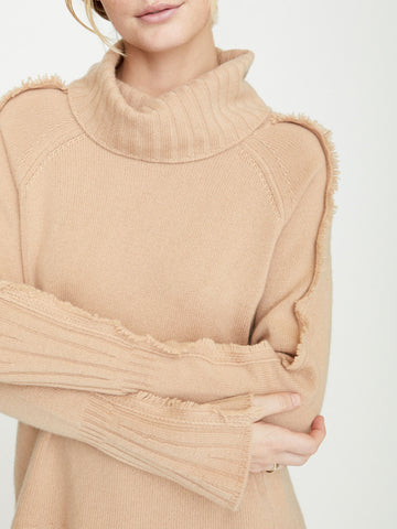 The Jolie Fringe Turtleneck
