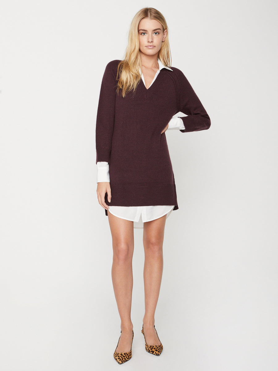 The Looker Layered V-Neck Dress