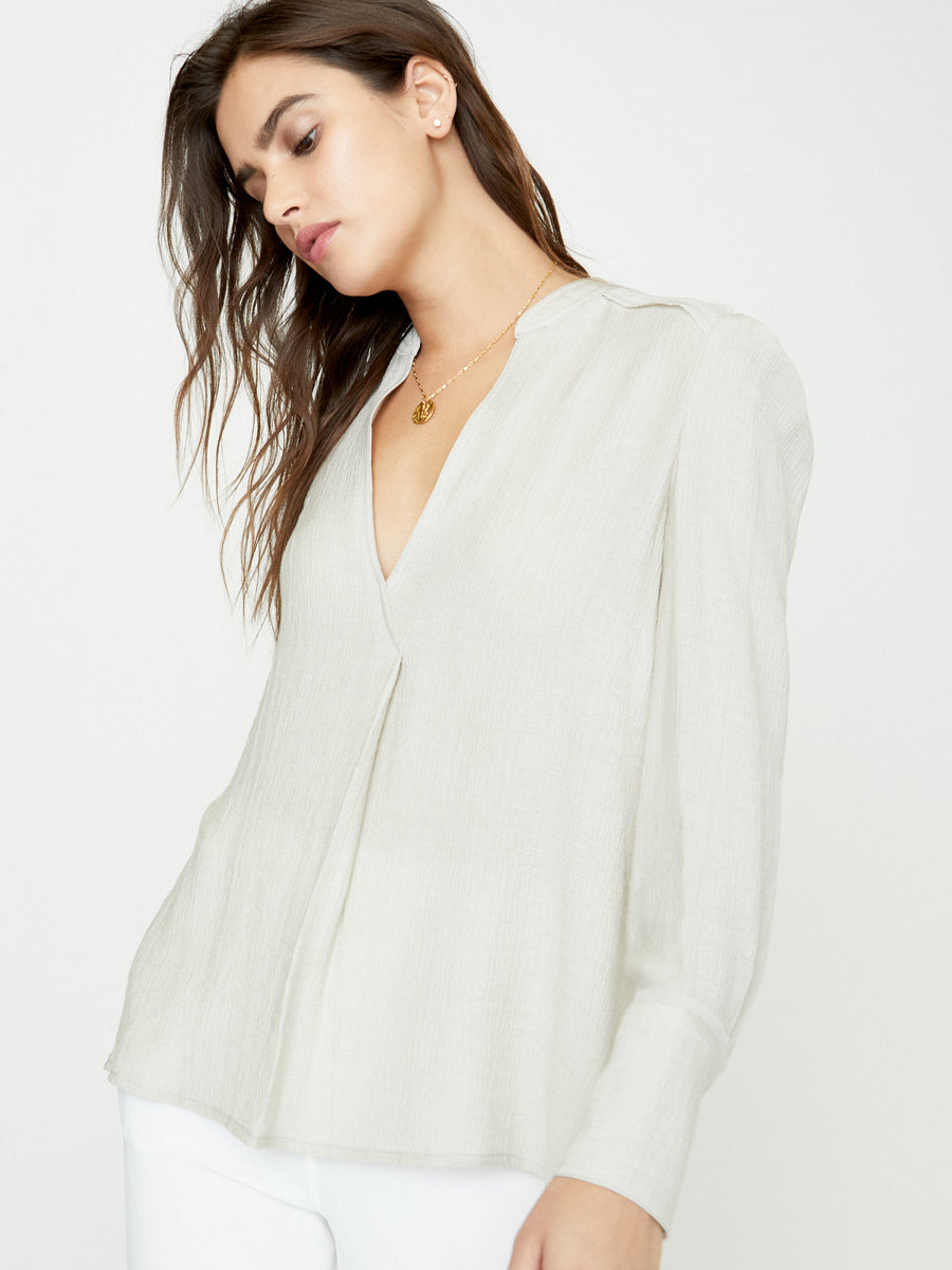 The Lena Blouson Blouse