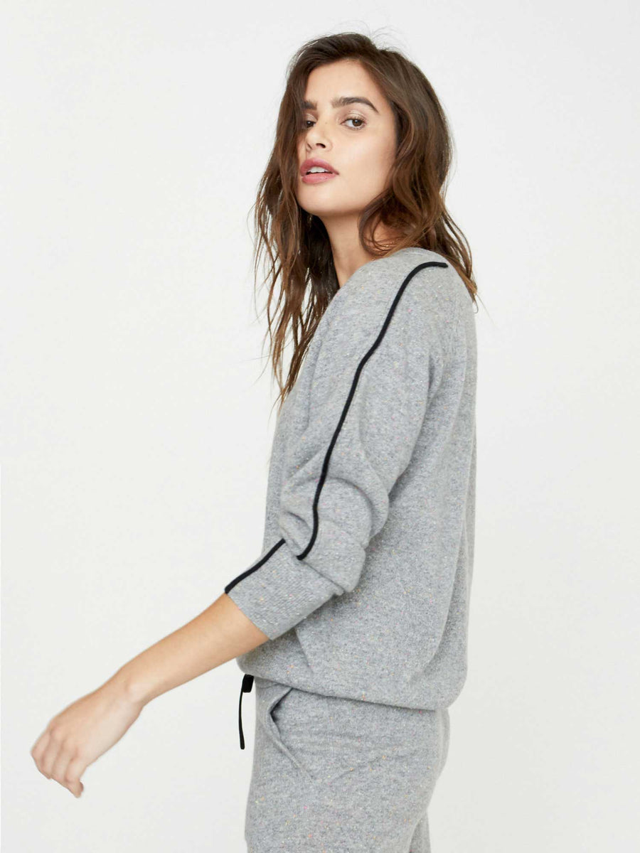 The Lucia Piped Sweatshirt
