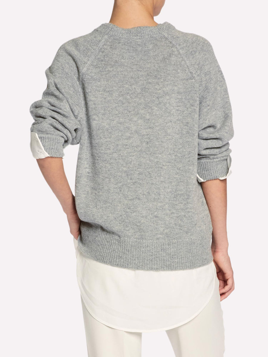 The Layered Sweatshirt