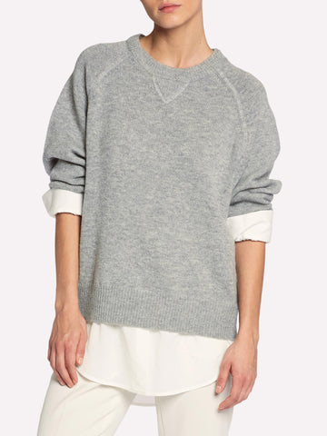 The Looker Layered Sweatshirt