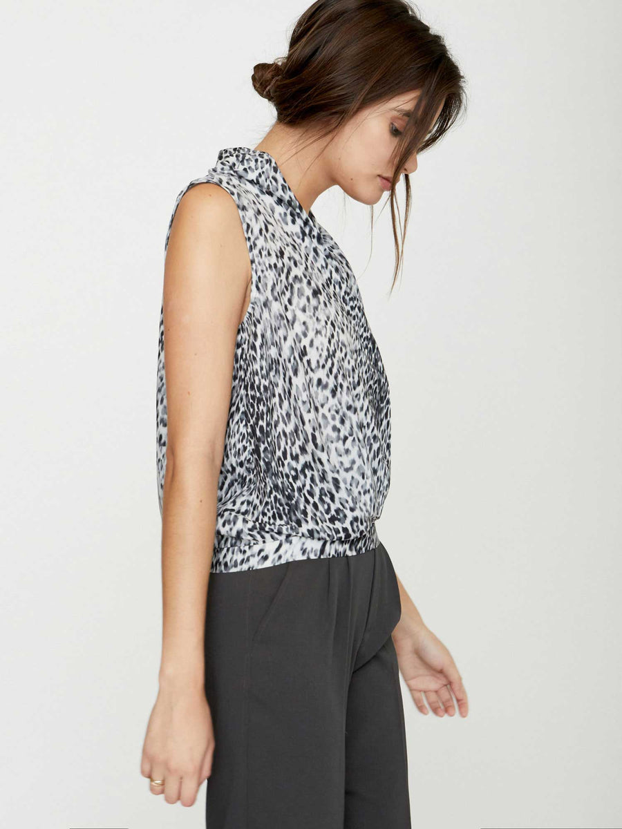 The Maxime Sleeveless Wrap