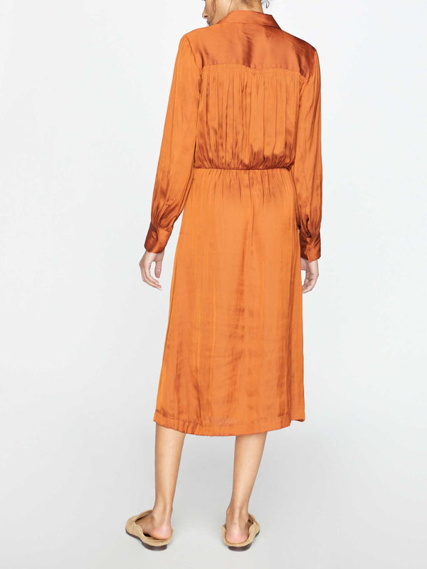 The Madsen Midi Shirt Dress