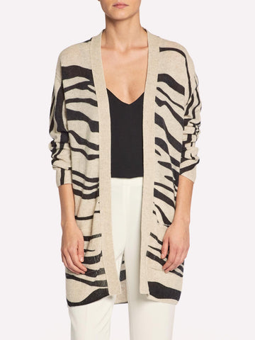 The Maxine Printed Cardigan