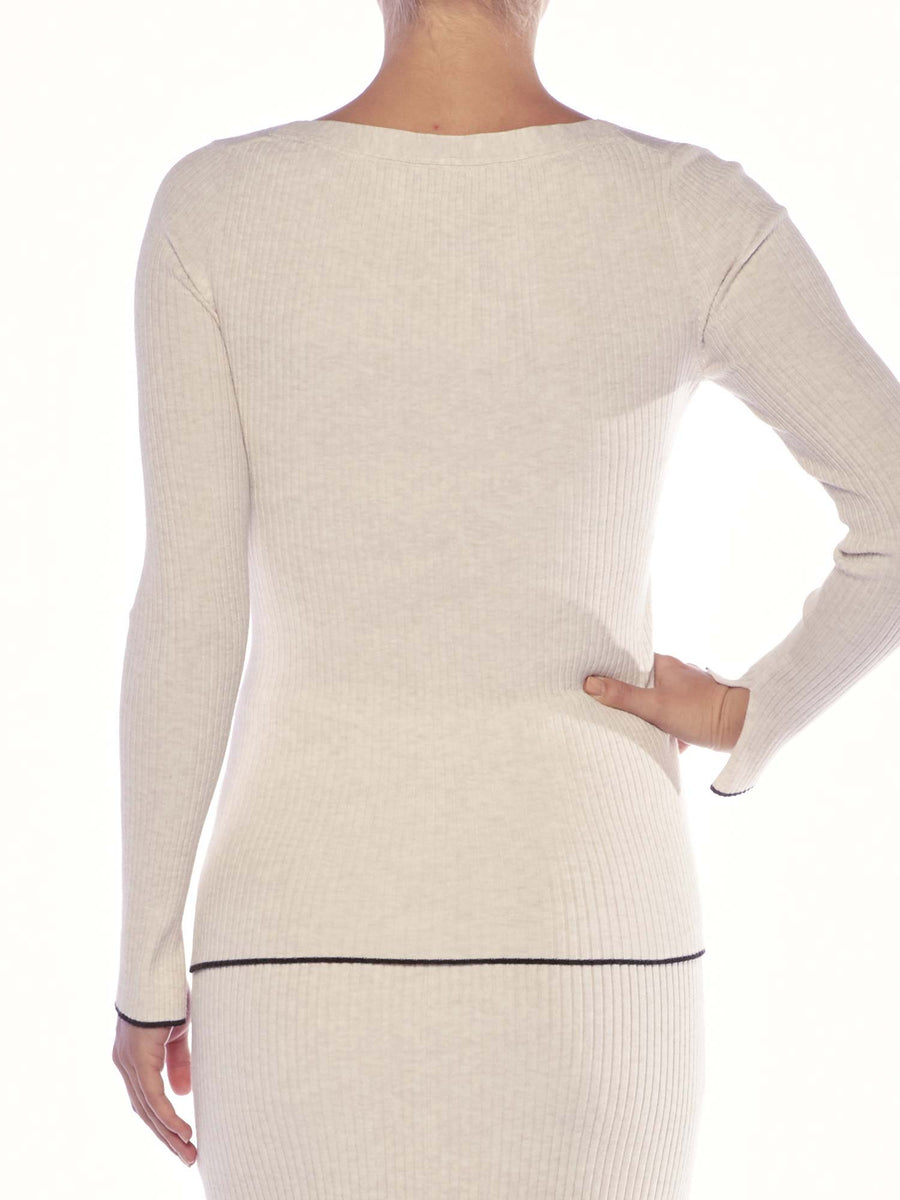 The Niko Wrap Pullover