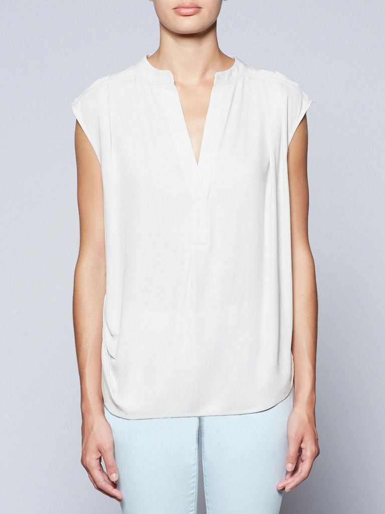 The Oren Pleated Blouse
