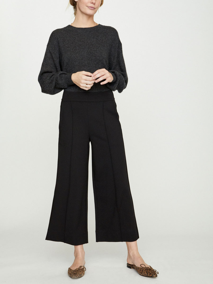 The Rhodes Wide Leg Cropped Trouser