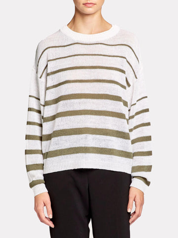 The Reed Stripe Pullover