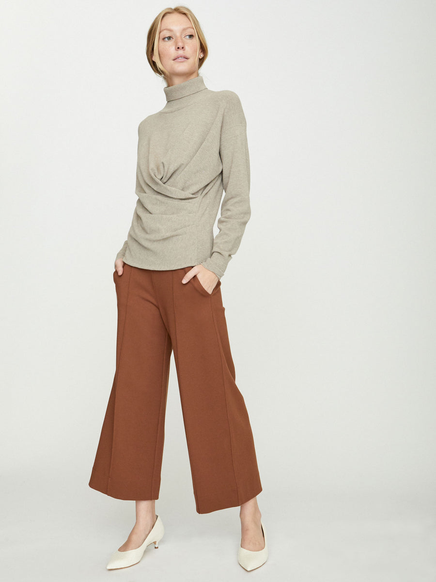 The Sabi Wrap Turtleneck