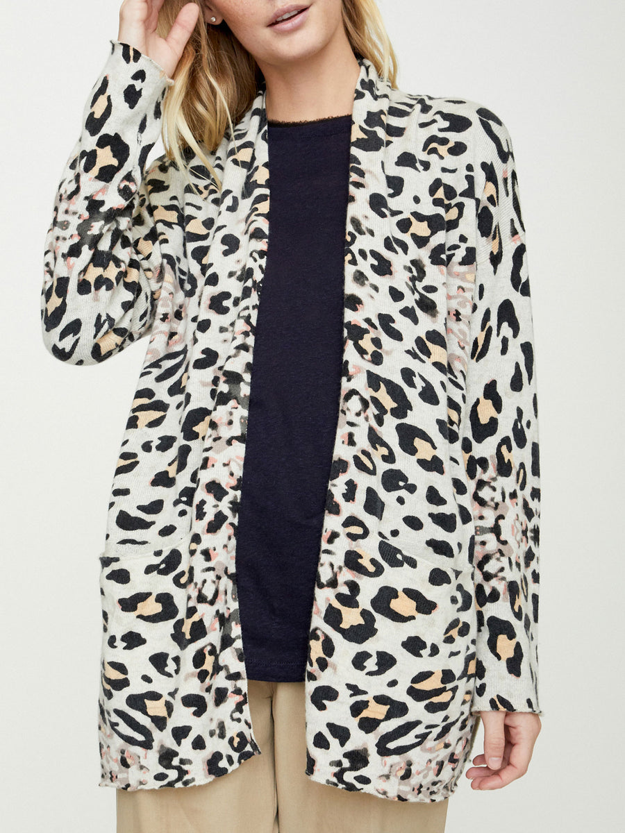 The Savy Printed Cardigan