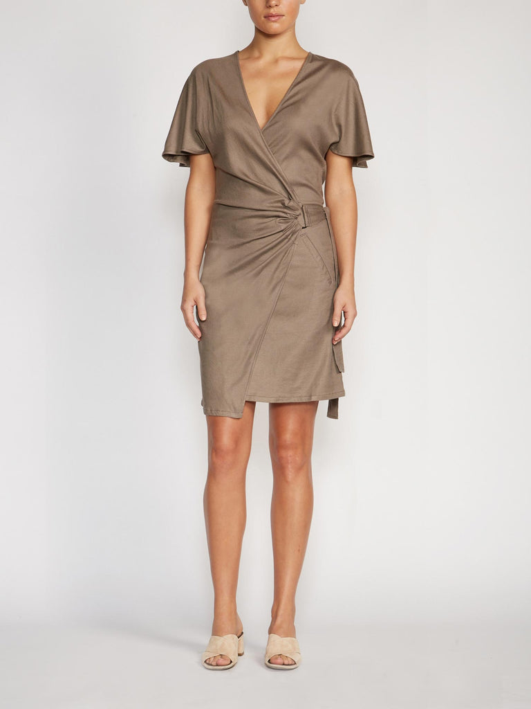 The Syma Wrap Dress