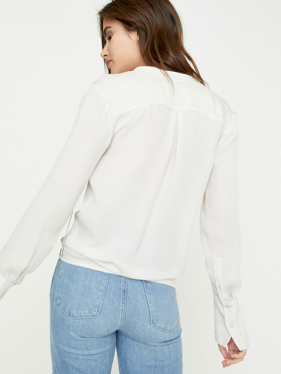 The Seville Stitched Blouse