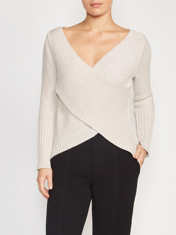 The Tessa Wrap Pullover
