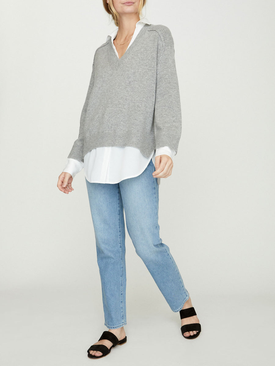 The Looker Layered V-Neck