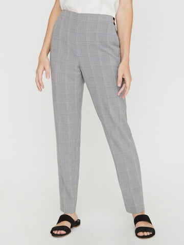 The Vanya Plaid Pant