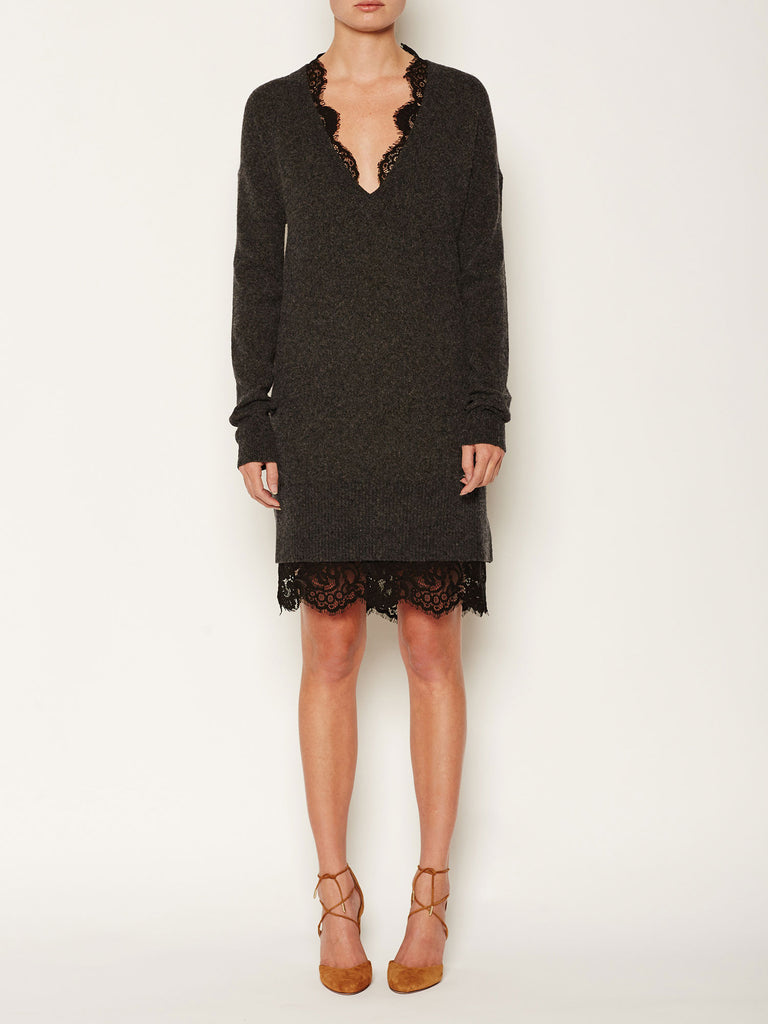 The Lace Looker Sweater Dress