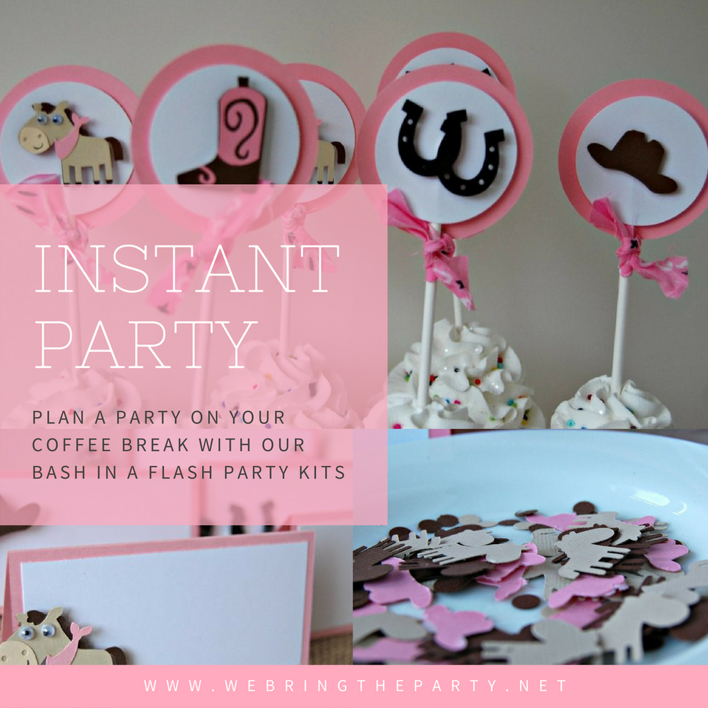 Plan a Party on Your Coffee Break
